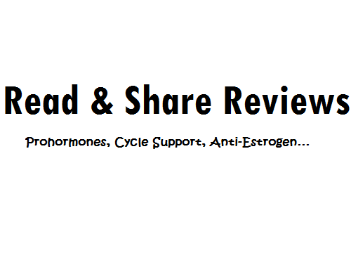Read & Share Supplements Reviews