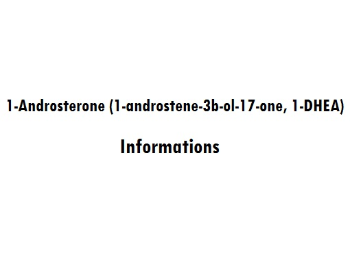 1-Androsterone (1-androstene-3b-ol-17-one, 1-DHEA)