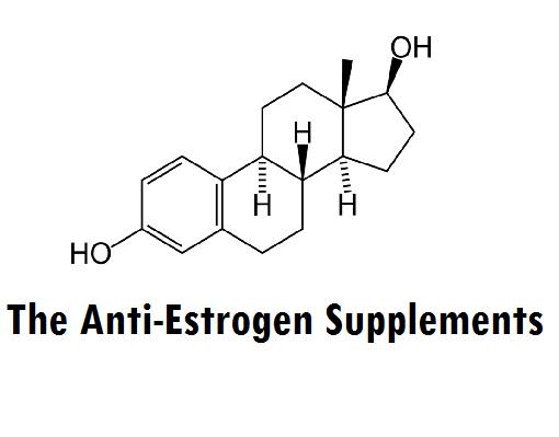 The Anti-Estrogen Supplements