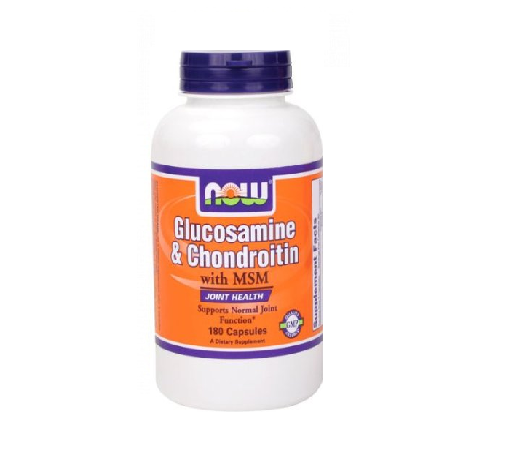 Glucosamine & Chondroitin with MSM – Now Foods Review