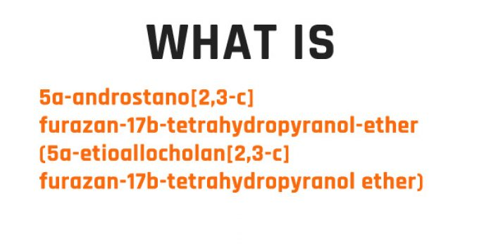 5a-androstano[2,3-c]furazan-17b-tetrahydropyranol-ether (5a-etioallocholan[2,3-c]furazan-17b-tetrahydropyranol ether)