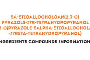 5a-etioallocholoan(2,3-c)pyrazole-17b-tetrahydropyranol ([3,2-c]pyrazole-5alpha-etioallocholane-17beta-tetrahydropyranol)