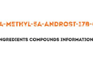 17a-methyl-5a-androst-17b-ol