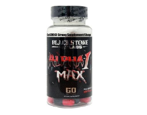 Alpha-1 MAX – BlackStone Labs Review