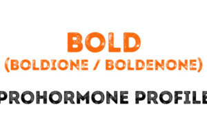 The Bold (Boldione, Boldenone) Prohormone Profile