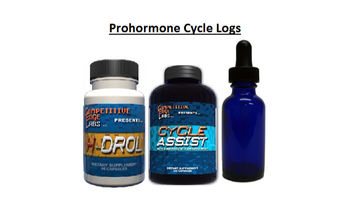 Prohormone Cycle Logs and Results