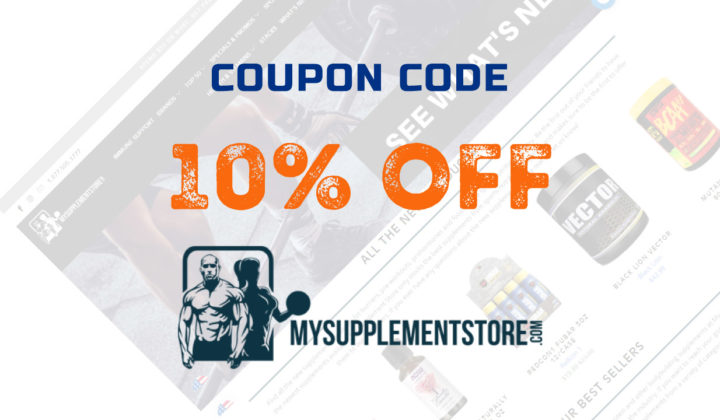 10% Discount at MySupplementStore with our Coupon Code