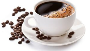 Drink coffee before workout