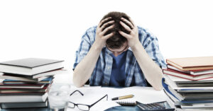 Cortisol - Frustrated student