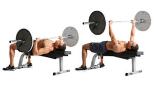 Myth of bench press and chest