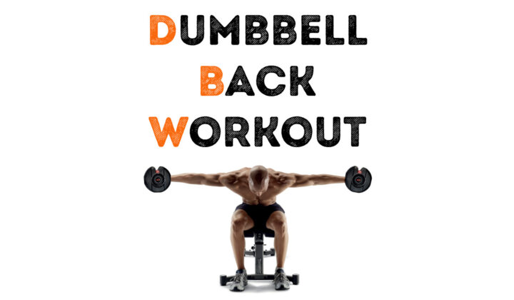 Dumbbell exercises for back that can be done at home