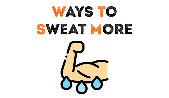 How to sweat more in gym?