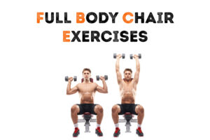 20+ chair exercises for gains at home